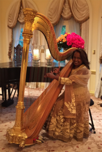 Cheryl Roeske, Harpist - About